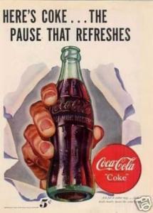 Here's a Coke